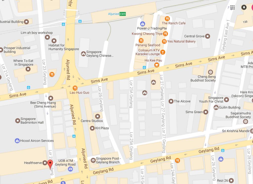 Green Avenue Location