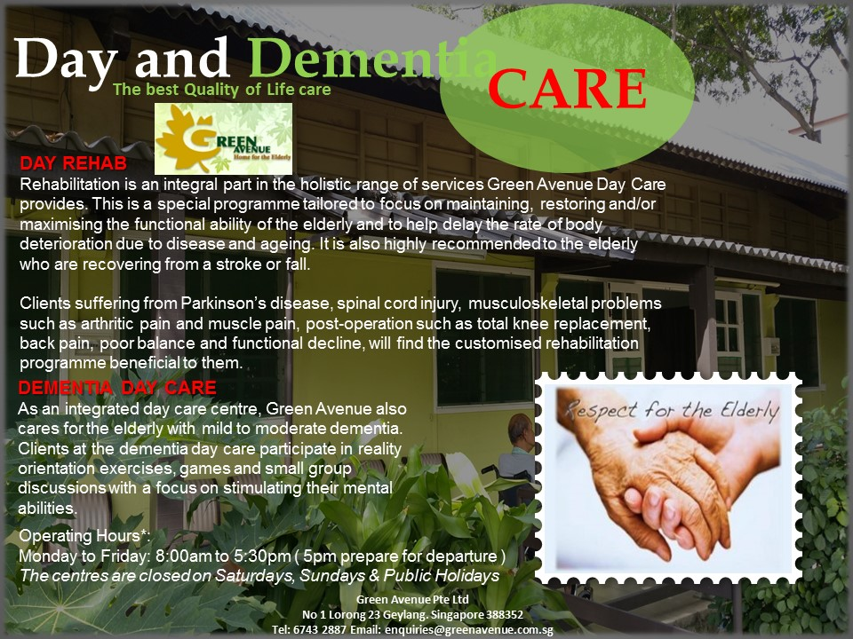 Day and Dementia Care ( Coming Soon )